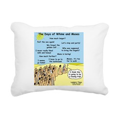 Days of Whine and Moses Rectangular Canvas Pillow