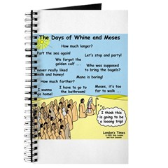 Days of Whine and Moses Journal