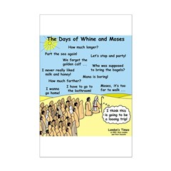 Days of Whine and Moses Posters