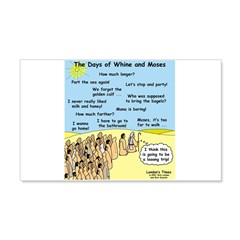 Days of Whine and Moses Wall Decal