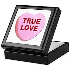 True Love Candy Valentine Heart Keepsake Box