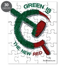 greenandred-LARGE Puzzle