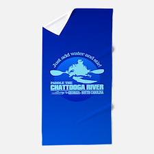Chattooga River (blue) Beach Towel