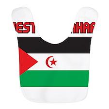Western Sahara Flag Bib