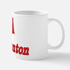Canada Flag - Edmonton Text Mug