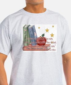 Teacher's teach - quote Ash Grey T-Shirt