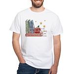 Teacher's teach - quote White T-Shirt