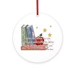 Teacher's teach - quote Ornament (Round)