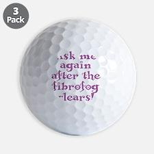 fibrofog_purple Golf Ball