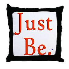 2-CP_justbe Throw Pillow