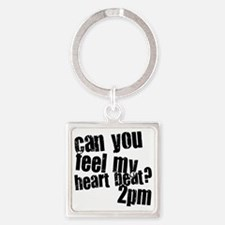 2PM Square Keychain