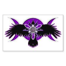 Crow Triple Goddess - Purple Decal
