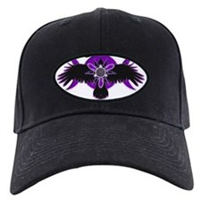Crow Triple Goddess - Purple Baseball Cap