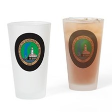 S Lk Mich Patch 4 Drinking Glass
