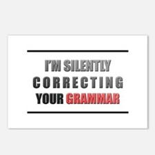 Im silently correcting your grammar Postcards (Pac
