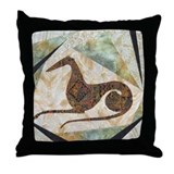 Greyhounds Throw Pillows