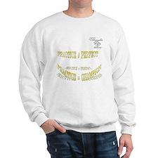 prac perf 10x10 copy Sweatshirt