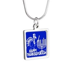 Happy Thanksgivukkah Turkey and Menorah Necklaces