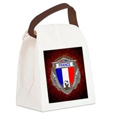 France Soccer Keepsake Box Canvas Lunch Bag