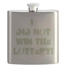 didnotwinlotterygreen Flask