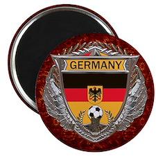Germany Soccer Keepsake Box Magnet