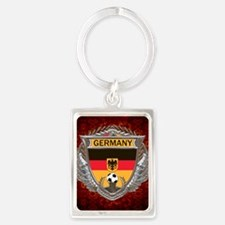 Germany Soccer Keepsake Box Portrait Keychain