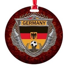 Germany Soccer Keepsake Box Ornament