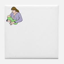 breastfeedingbenefitswh Tile Coaster