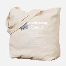 breastfeedingbenefitswh Tote Bag