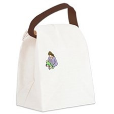 breastfeedingbenefitswh Canvas Lunch Bag