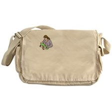 breastfeedingbenefitswh Messenger Bag