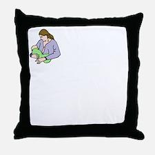breastfeedingbenefitswh Throw Pillow