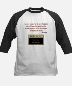 There is an old saying - quot Tee