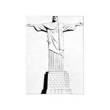 christ the redeemer 5'x7'Area Rug