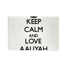 Keep Calm and Love Aaliyah Magnets