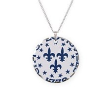 city of louisville 1778 seal Necklace Circle Charm