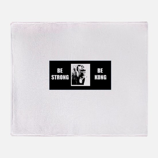 be kong Throw Blanket