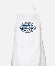 Chicago Oval BBQ Apron