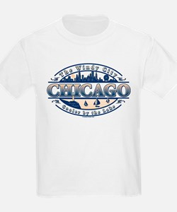 Chicago Oval Kids T-Shirt