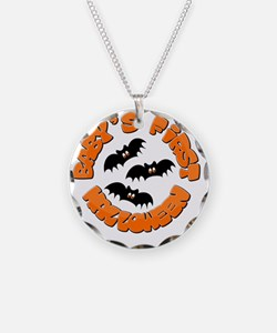 babys first halloween Necklace