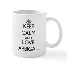 Keep Calm and Love Abbigail Mugs