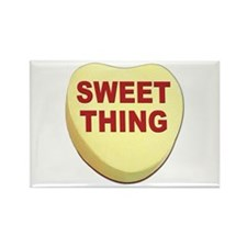 Sweet Thing Valentine Heart Rectangle Magnet