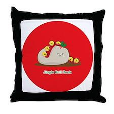 Rock-ornament Throw Pillow