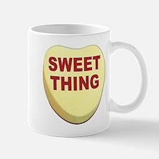 Sweet Thing Valentine Heart Mug