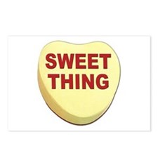 Sweet Thing Valentine Heart Postcards (Package of