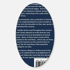 2-isbn.back.cover Sticker (Oval)