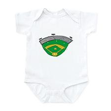 Baseball Stadium Infant Bodysuit
