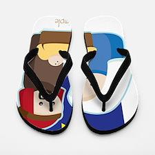 Nativity Flip Flops