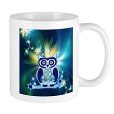 cute owl love peace Mugs