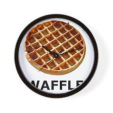 WAFFLE Wall Clock